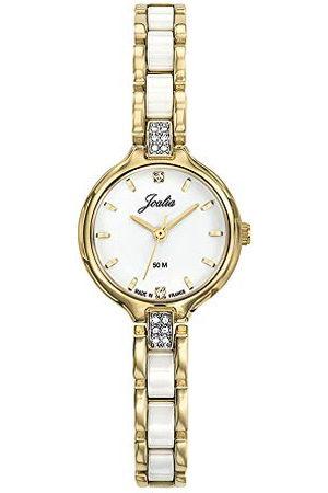Joalia Dames analoog kwarts horloge met roestvrij stalen armband 630599