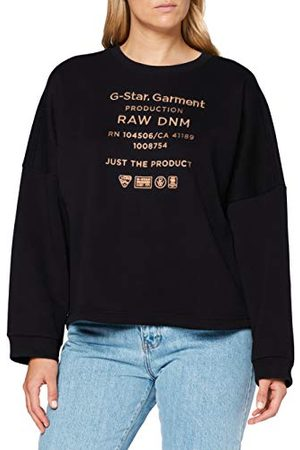 G-Star Dames Sweater Graphic Text Relaxed