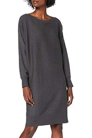 Noisy May Dames Nmship L/S Boatneck Knit Dress Bg Noos Jurk