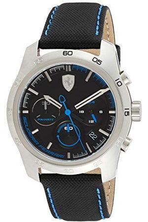 Scuderia Ferrari Heren chronograaf quartz horloge met lederen band 0830445