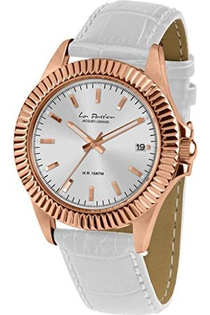 Jacques Lemans Dames analoog kwarts horloge met lederen armband LP-125C