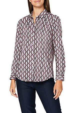Seidensticker Dames hemdblouse lange mouwen ketting blouse
