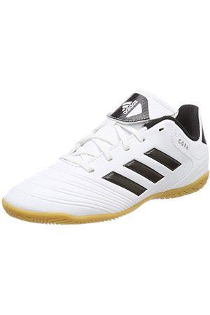 adidas Jongens Outdoorschoenen - Unisex Kids Copa Tango 18.4 Indoor voetbalschoenen, (Footwear White/Solar Red/Core Black), 35,5 EU