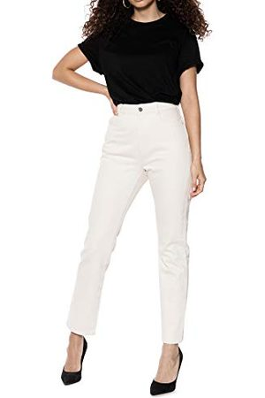 Ivy Revel Dames Denim High Waist Straight Jeans
