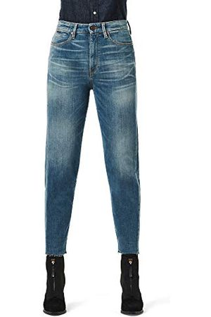 G-Star Dames Straight - Janeh Ultra High Waist Mom Ripped Ankle Straight Jeans voor dames