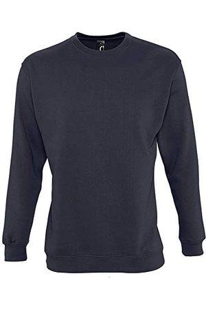 Sols New Supreme Sweatshirt Unisex, Marineblauw, T 3XL