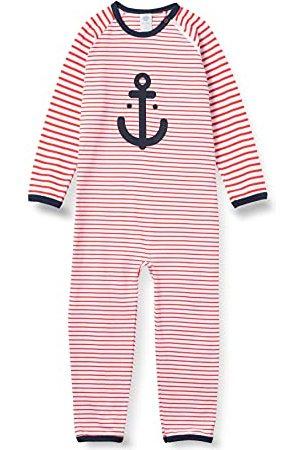 Sanetta Jongens Boxpakjes - Jongens rompertje rode baby- en peuter-pyjama