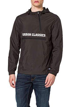 Urban classics Commuter Pull Over Jacket, herenjack, windbreaker voor mannen, met zak om op te bergen, in 3 kleuren, maten S - 5XL