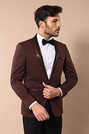 Wessi Slimfit Smoking Tuxedo Smoking Sjaal voor heren
