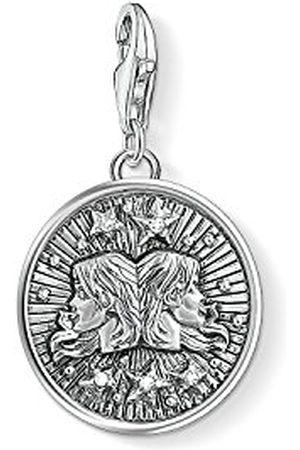 Thomas Sabo Bedelhanger voor dames en heren, sterrenbeeld, tweeling, club 925 sterling zilver, 1642-643-21