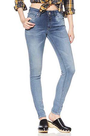 Replay Dames New LUZ Skinny Jeans, (Medium Blue 9), No Aplica/L30 (fabrieksmaat: 23)
