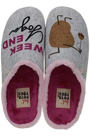 HOT POTATOES 61033-P, Sneakers Vrouwen. 36 EU