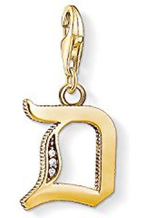 Thomas Sabo Dames-bedelhanger D letter Charm Club 925 sterling zilver 1610-414-39