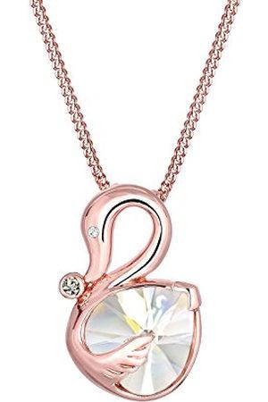 Elli Damen 925 Zilver Herzschliff kristal