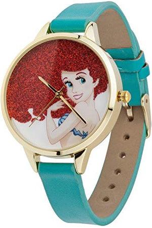 JOY TOY Analoog kwartshorloge voor meisjes met gelakte leren armband 62192