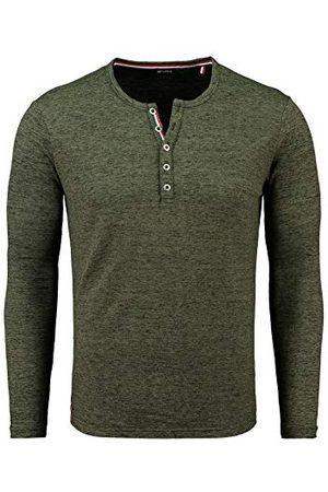 Key Largo Heren Lange mouw - Heren Nils Button T-shirt