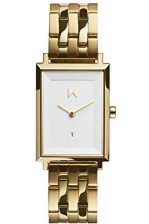 MVMT Dames Horloges - Dameshorloge, analoog, kwarts, met armband van verguld roestvrij staal, D-MF03-G