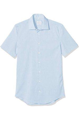 Seidensticker Zakelijk overhemd voor heren, strijkvrij, smal overhemd, slim fit, halflange mouw, kent-kraag, 100% katoen