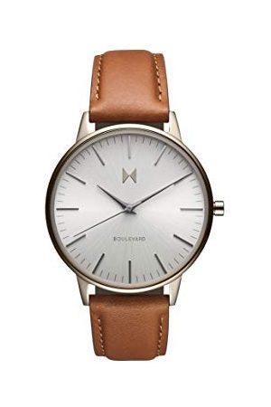 MVMT Dames analoog kwarts horloge met kalfsleer lederen armband 28000067-D