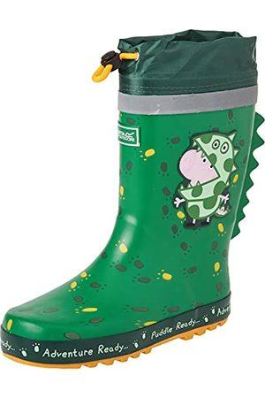 Regatta Peppa Pig Puddle rubberen regenlaars met trekkoordsluiting