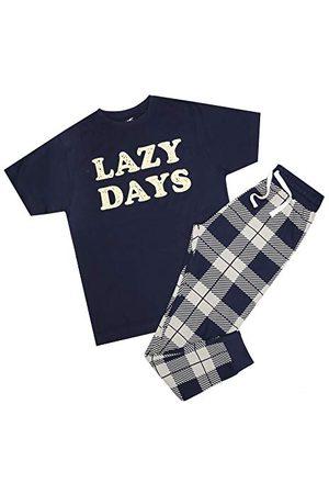 GAME ON Heren Pyjama's - Heren luie dagen pyjama set pyjama