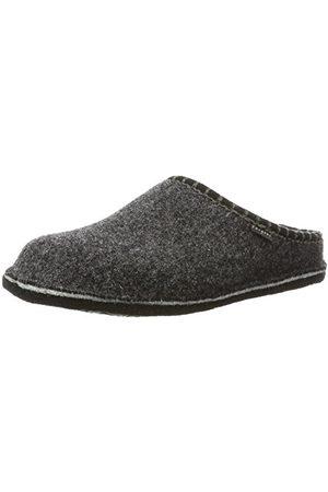 Fargeot Heren Pantoffels - CALOUFOLK Uniseks - Volwassenen Pantoffels, antraciet, 36 EU