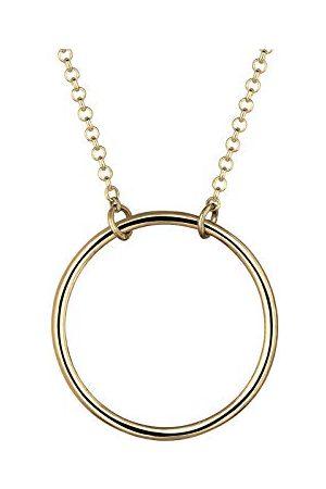 Elli Halsketting Kreis Rund Geo Minimal 925 Sterling Silber
