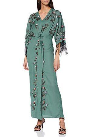Frock and Frill Dames Midi jurken - Frock en franje vrouwen Karrie versierd Midi jurk formele nacht