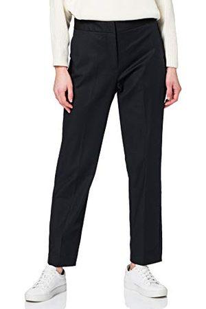 Tommy Hilfiger Dames Slub Co slanke enkel broek