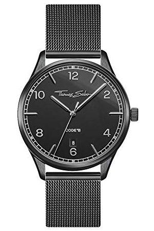 Thomas Sabo Dames analoog kwarts horloge met roestvrij stalen armband WA0362-202-203-36 mm