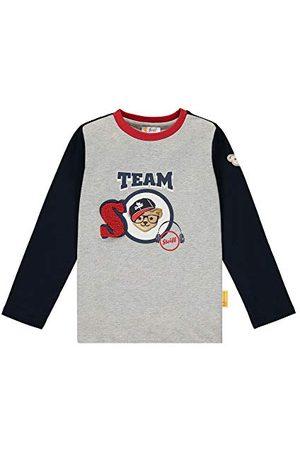 Steiff Jongens Lange mouw - Jongens met schattige teddybärapplication T-shirt lange mouwen
