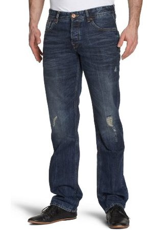 Cross Jeans heren jeanbroek/lang F 153-281 / Vinicio, Straight Fit (rechte broek)