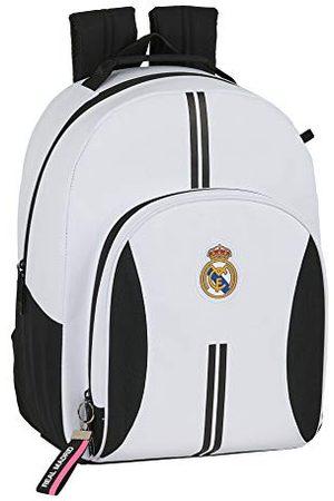 Safta Rugzakken - Rugzak schoolrugzak Real Madrid, aanpasbaar, 320 x 150 x 420 mm