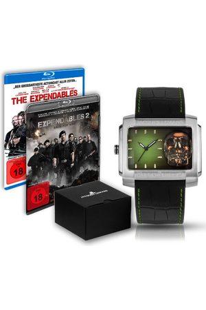 Jacques Lemans Dames Horloges - Unisex polshorloge The Expendables 2 analoog kwarts leer E-224.1