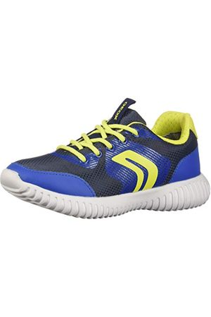 Geox Boy Sports shoes J846TB 0FU54 J WAVINESS C0749 NAVY-LIME Size 32 EU