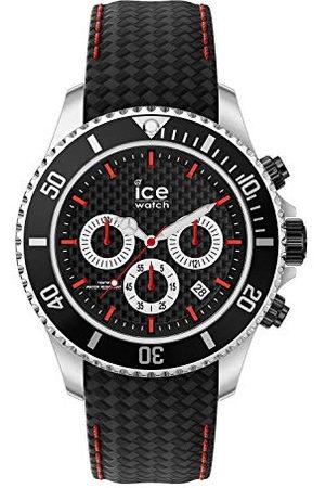 Ice-Watch ICE steel Black racing Chrono - herenhorloge met leren armband - Chrono - 017669 (Maat L)