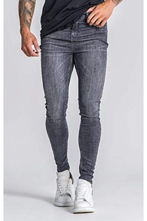 Gianni Kavanagh Medium Grey Core Skinny Jeans Heren