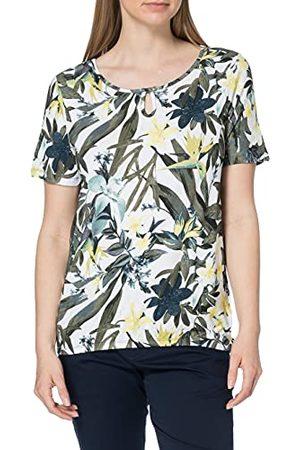 Blue Seven Dames Shirts - Dames all-over print, boothals T-shirt