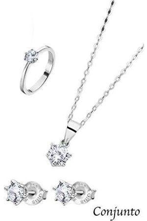 Lotus Ring Set halsketting, oorbellen en ring Trendy LP3117-6/314 LP3117-6/314 merk
