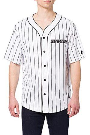 Build Your Brand Heren Shirts - Herenshirt Starter Baseball Jersey Bowlinghemd