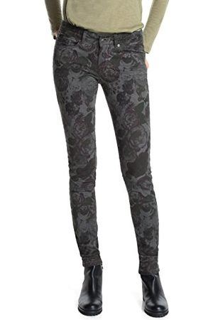 Esprit Dames Skinny - Esprit Skinny Jeans Flower Camouflage voor dames