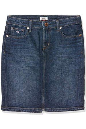 Tommy Hilfiger Tommy_Jeans REGULAR DENIM SKIRT ACDK jurk dames, (denim 1bj), eenheidsmaat (fabrieksmaat: één maat)