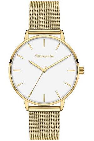 Tamaris Dames Horloges - Dames analoog kwarts horloge met roestvrij stalen armband TT-0002-MQ