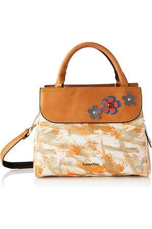LAURA VITA 4129, Tas met handvat, bloemenmotief, leer dames Medium