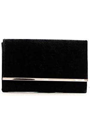 Eferri Glamour, avondtas voor dames, zwart, 27 x 17 x 6 cm