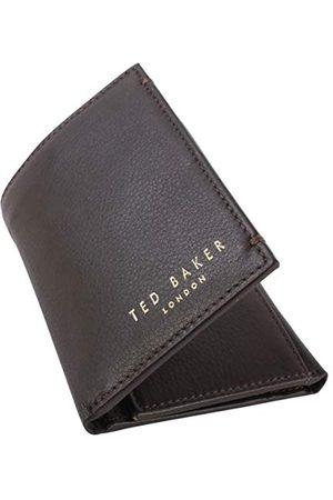 Ted Baker Ted Baker mannen Core Mini kaart voor reizen accessoire-Tri-Fold portemonnee, XCHOCOLATE, One Size