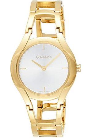 Livall Dames Horloges - Calvin Klein Dameshorloge analoog kwartshorloge met roestvrij stalen band K6R23526