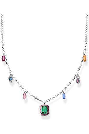 Thomas Sabo KE1893-342-7-L45v Damesketting, gekleurde gelukssymbolen, zilver 925 sterling zilver