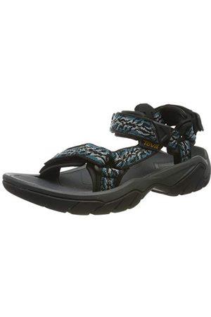 Teva Dames Sandalen - 1099443, open sandalen met sleehak dames 37 EU