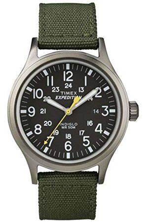 Timex Heren Horloges - T49961 Expedition Scout Analoog Quartz Herenhorloge met Nylon Armband
